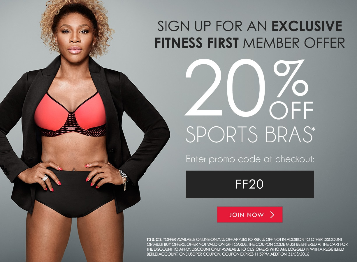 Fitness First Exclusive Member Offer